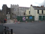 With the demolition of Ryan's Pub, the Castle becomes clearly visible from Main Street.